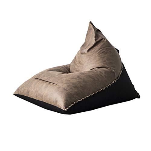 JJZXT Sofá Perezoso nórdico Simple sofá Individual Dormitorio Moderno sillón de Ocio Sala de Estar Creativa Bolsa de Frijoles