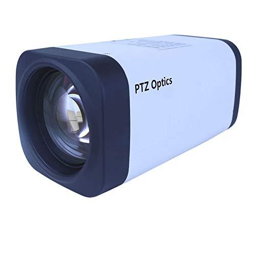 PTZOptics 12X-ZCAM - Cámara de fotos (1080 p, zoom óptico ZCam HD-SDI), color blanco