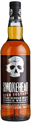 Smokehead HIGH VOLTAGE Islay Single Malt Scotch Whisky mit Geschenkverpackung (1 x 0.7 l)