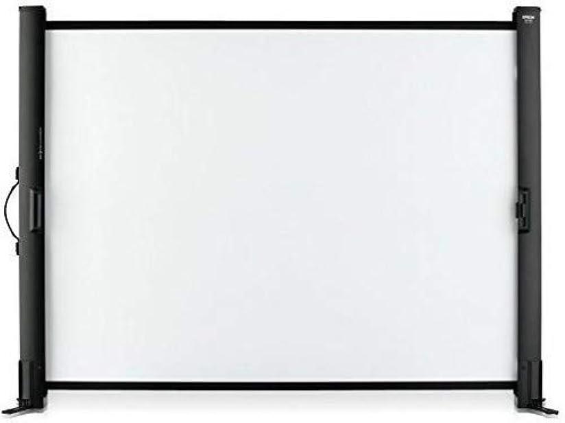 皿未接続花瓶EPSON 携帯型ロールスクリーン/50型/4:3 ELPSC32