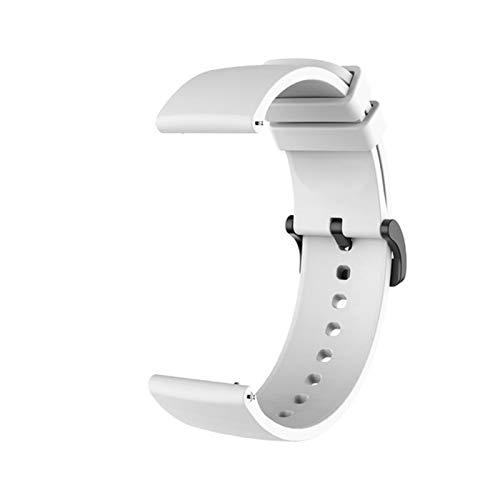 Correa de silicona para la muñeca para Xiaomi Amazfit GTR 42MM GTS, accesorios de pulsera en mi para Xiomi mi, correa de reloj inteligente, correas de cuero