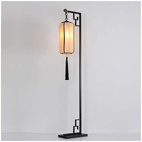 Ti-Fa vloerlamp vintage vloerlamp LED vloerlamp voor woonkamer slaapkamer kantoor zwart