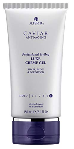 Price comparison product image Alterna Caviar Professional Styling Luxe Crème Gel,  5.1 Fl Oz / Shapes and Transforms / Provides Natural Looking Shine / Sulfate Free
