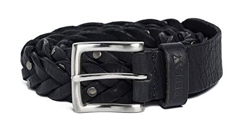 REPLAY Ax2253.000.a3000 Cinturón, Negro (Black 098), 90 (Talla del fabricante: 75) Unisex Adulto