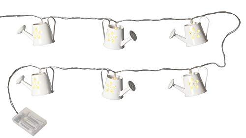 NETPROSHOP Led-lichtsnoer met leds van metaal, wit (8-delig) voor binnen