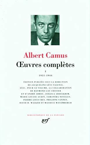Œuvres complètes (Tome 1-1931-1944)