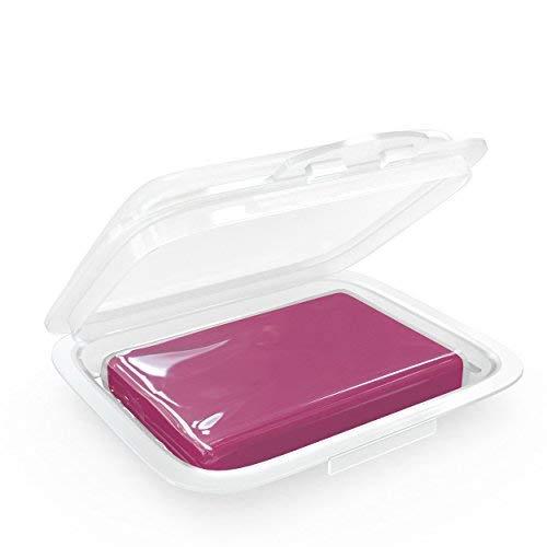AmbiClean® Reinigungsknete für Auto, Motorrad, Wohnwagen etc. - Lack-Reiniger zur Vorbereitung von Autopolitur oder Autofolierung - Rot = Hart