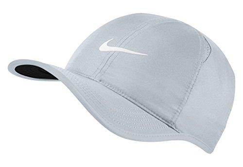 Nike Arobill Featherlight Kappe, Pure Platinum/Black/(White), One Size