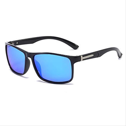 Gafas de sol Gafas de sol Polare Hombre Cambio de Color al aire libre Conducción Pesca Brillante marco negro hielo azul copos