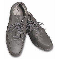 Henselite Henselite Victory Herren Bowler grau Lace Up Schuhe