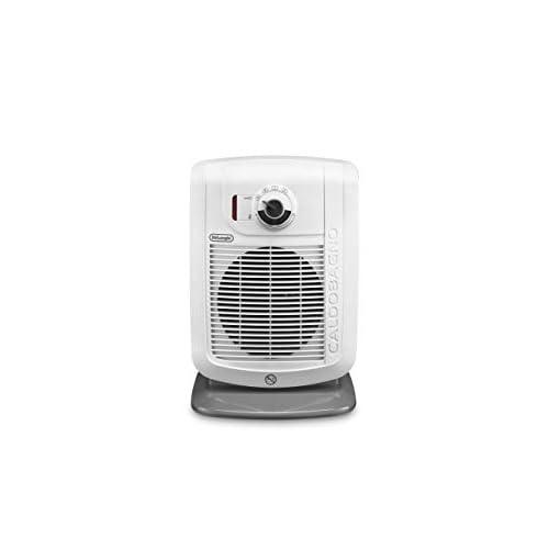 De'Longhi HBC3030 Termoventilatore Caldobagno, 2200 W, Plastica, Bianco