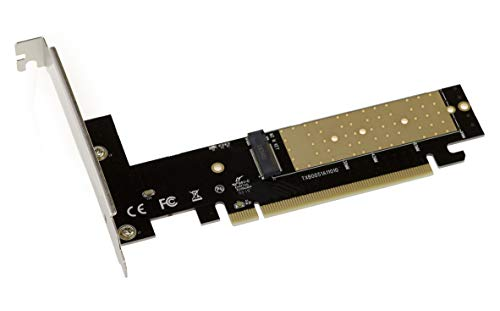 PCIE 3.0 16x Karte fûr M2 NVMe M Key SSD. Kompatibel Samsung XP941 SM951 950 Pro Series PM961 960EVO SM961 PM951 960EVO INTEL 600P Liteon T10 Kingston HyperX Predator Plextor M6e Series