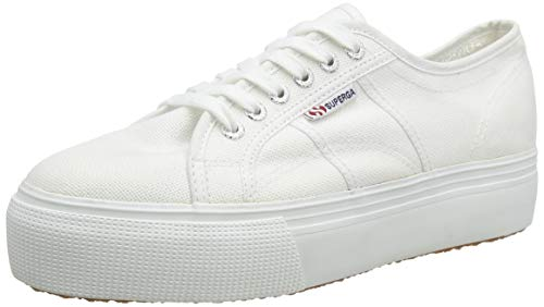 Superga 2790 Acotw Linea Up And Down, Scarpe da Ginnastica Donna, Bianco, 37 EU