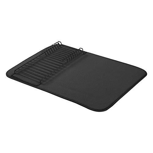AmazonBasics - Estantería de secado, 47,7 x 60,9 cm, color negro/negro