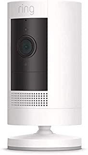 All-new Ring Stick Up Cam Battery HD security camera with two-way talk
