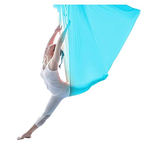 YANFEI Terapia Interior Swing Hamaca para niños Cuddy Cojín Cojín Cojín de Yoga Hamaca para Autismo Sensory Al Aire Libre Camping (Color : Sky Blue)