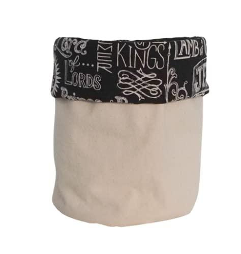Black and White Cloth Max 84% OFF - Excellent Canvas Cotton Bin