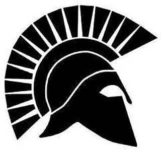 Spartan Spartans Gladiator Vinyl Decal Sticker BLACK Cars Trucks Vans SUV Laptops Wall Art 5.25