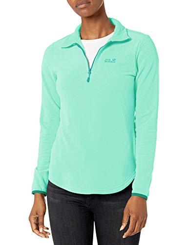 Jack Wolfskin Damen Echo Sweatshirt, Pacific Green, M