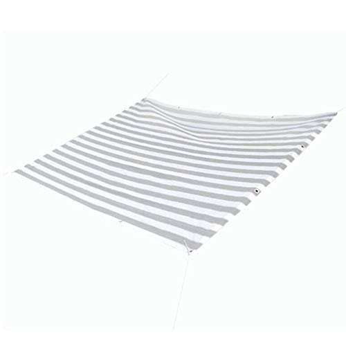 Dall 85% Paño De Sombra Bloqueador Solar Borde Encintado con Ojales Planta Exterior Patio Jardín Invernadero Pérgola Cubierta De Protección Shade Net (Color : T1, Size : 5×2.3m)