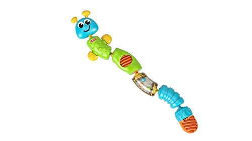 Fisher-Price Chenille d'activités jouet à emboîter et à reconstituer pour développer la motricité de bébé, 6 mois et plus, W9834