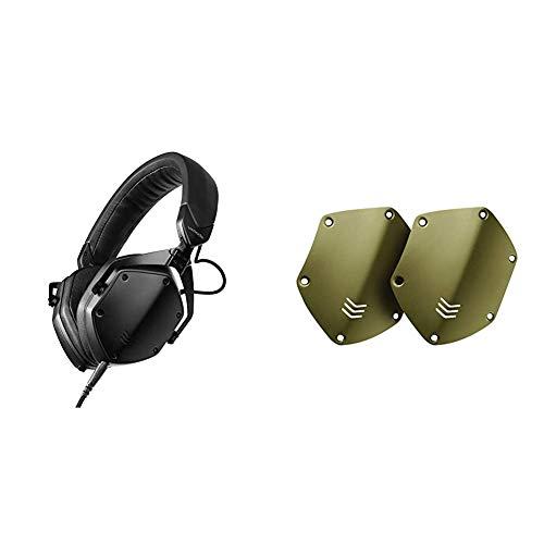 V-MODA M-200 Studio Auriculares de Monitorización Profesionales (Negro) con Escudos...