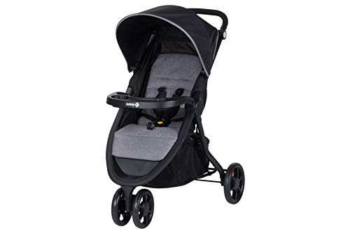 Safety 1st 1212666000 Urban Trek, sportlicher Kinderwagen Buggy mit Liegeposition, nutzbar ab 6 Monaten bis circa 15 kg, schwarz