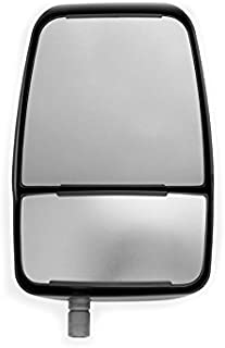 Velvac 714580 Replacement Mirror Head, Right Side, Black, Manual
