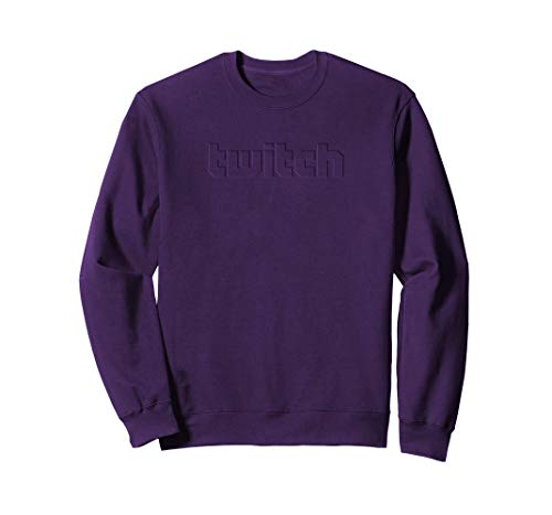 Twitch - Herren Puff Mannschaft Sweater Lila M