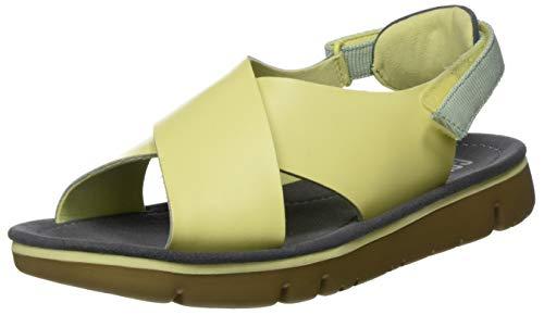 Camper Oruga Sandal, Sandalias de Talón Abierto Mujer, Rosa (Lt/Pastel Yellow 740), 37 EU