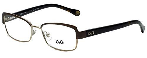 Eyeglasses D&G DD5102 1101 BROWN/PALE GOLD DEMO LENS