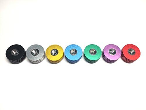 Preisvergleich Produktbild DIY-24H - Heat Sink 510er Anschluss für Verdampfer aus Aluminium in 7 Farben DripTip Bottom Feeder Verdampfer (Lila)