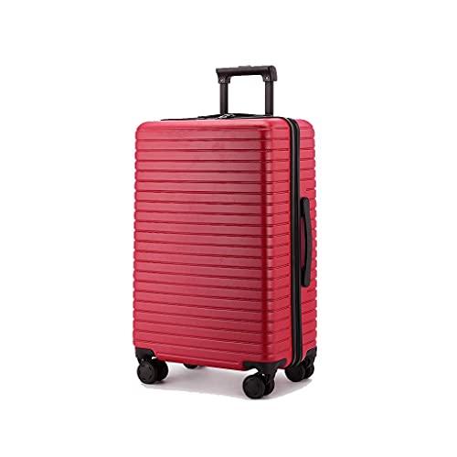 JIAWYJ Portatile-Valigia/Valigia Custodia per Carrello Maschio Suitcase Universal Wheel Password Caso d'imbarco/Codice di Commodity: LWH-87 (Color : Red)