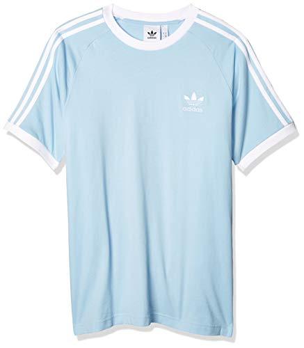 adidas 3-Stripes Tee, T-Shirt Uomo, Clear Sky, M