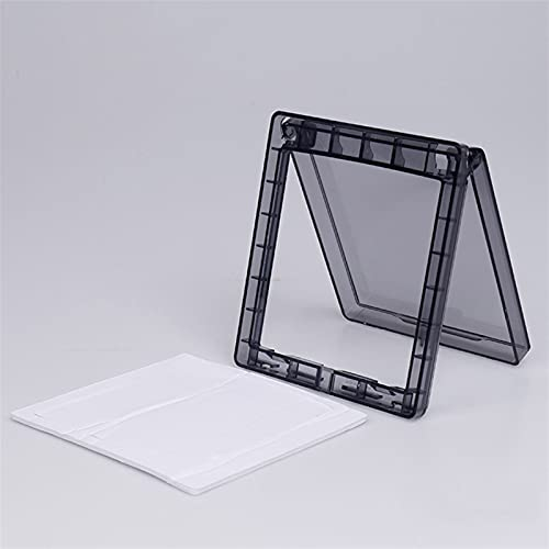 Panel de caja impermeable con enchufe de pared, 1 unids 86 Tipo Interruptor Autoadhesivo Caja impermeable ultra delgada, Cubierta impermeable del interruptor táctil del baño, caja negra a prueba de sa