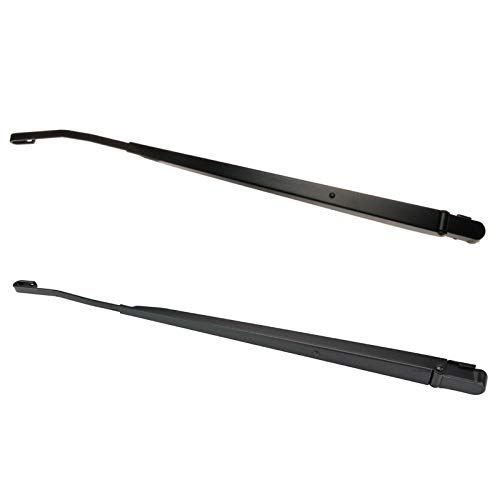 1A Auto Windshield Wiper Arm Front Pair Hook Style Set Pair for Chevy GMC Pickup Truck