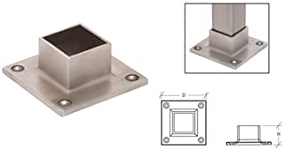 aluminum square tube with flange