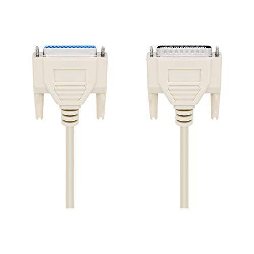 Wentronic Anschlusskabel (25 polig D-SUB Stecker auf 25 polig D-SUB Buchse) 1,8 m, 50541-GB