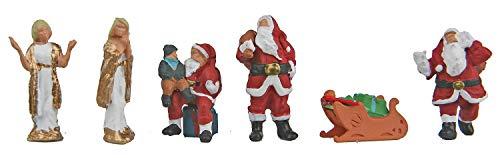 Walthers SceneMaster Christmas Figures Train