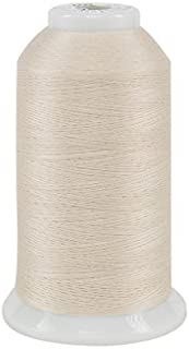 Superior Threads So Fine #50/3 Lint Free, Extra Smooth All Purpose Polyester Sewing Thread, Pearl