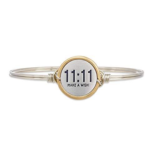 Luca + Danni | 11:11 Make A Wish Bangle Bracelet For Women Made in USA