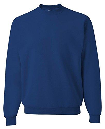 Jerzees JERZEES SUPER SWEATS - Crewneck Sweatshirt. 4662M - 3XL - Royal