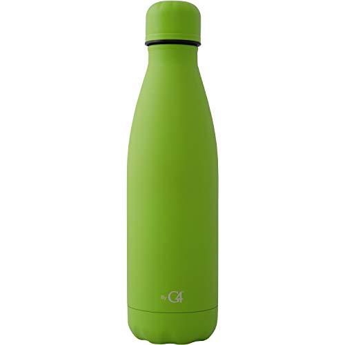botella verde marca G4
