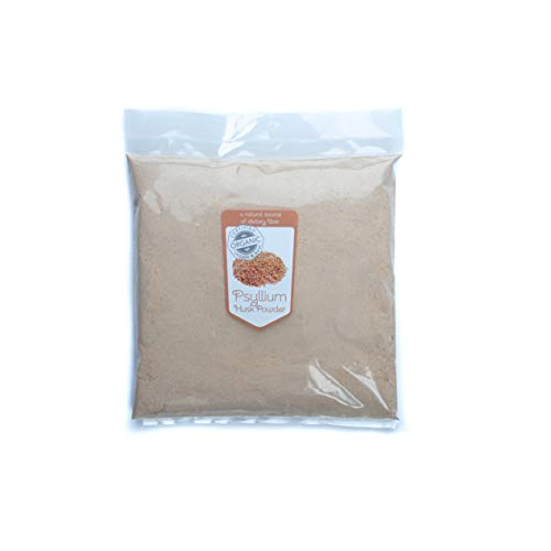 Superfoodies Organic Psyllium Husk Powder 1KG (200 Daily Servings) Helps Gut Health and Digestion