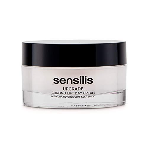 Sensilis Upgrade Chrono Lift Crema de Día Antiedad y Reafirmante, SPF20, 50 ml