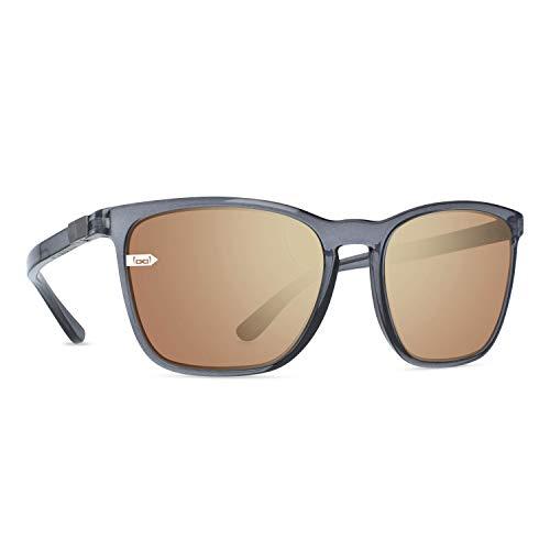 gloryfy unbreakable eyewear Gloryfy - Gafas de sol unisex irrompibles (Gi26 Kingston, color gris y dorado, para adultos