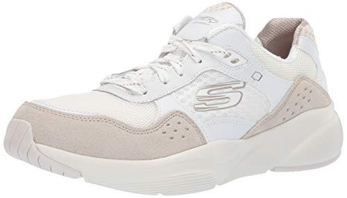Skechers Meridian-charted, Zapatillas, Blanco (White Natural WNT), 36 EU