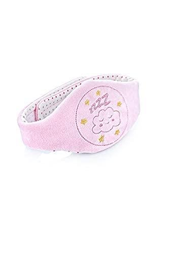 Babyjem, Gürtel mit Kirschkern Baby Kirschkernkissen ideal für Bauchschmerzen und Blähungen Kirschsteinen gefüllt Massage Wärmflasche, Rosa