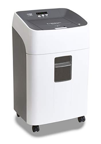 Dahle 35314 - Destructora de papel (300 hojas, corte en partículas P4, alimentación automática), color blanco y gris