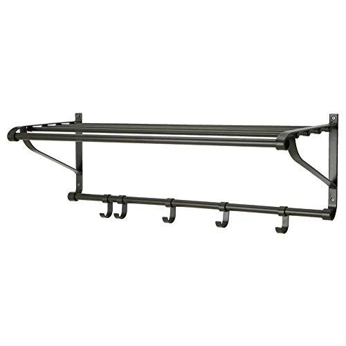 IKEA ASIA Portis - Perchero, Color Negro